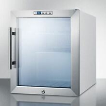 Commercially Approved Glass Door Refrigerator With Digital Thermostat