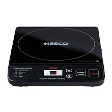Nesco Portable Induction Cooktop Pic 14 Metal Electric Kitchen Cooking Ware New
