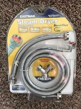 EASTMAN Steam Dryer Water Installation Kit  375855 Model   98538   Free Shipping