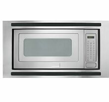 Frigidaire Pro SmudgeProof Stainless Built in Microwave with 27  Trimkit