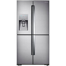 Samsung Stainless Steel 22 CF French Door Refrigerator Showcase Door RF22K9381SR