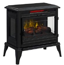 Black Metal Iron Flat Wall Burner Vintage Electric Cook Stove Range Mr Heater