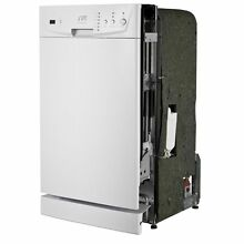 SPT Energy Star 18  in Built in Dish washer White Energy Star Stainless Steel