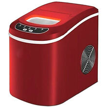 Ice Maker Machine Portable With 2 Selectable Cube Size Counter top