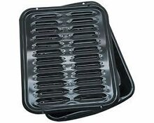 RANG BP102X Range Kleen Porcelain Broiler Pan with Porcelain Grill
