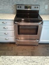 Frigidaire 30  Stainless Steel Freestanding Electric Range  From new built home