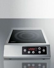Summit 110V Induction Cooktop for Portable Commercial Use