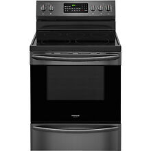 Frigidaire GALLERY Black Stainless Electric Freestanding Range FGEF3059TD