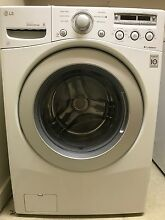 LG WM2250CW DLE2250W washer dryer combo  white