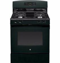 NEW  GE  30  FREE STANDING GAS RANGE  JGB630DEFBB Griddle 4 Burner Self Clean