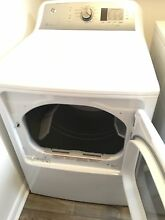 Brand new white General Electric gas dryer
