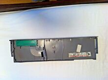 Whirlpool part number WPW10084124 dishwasher console assembly