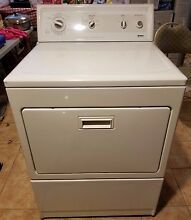 27 Inches Kenmore Elite Electric Dryer 110 62952100  Good Condition