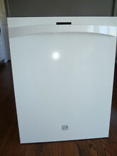 Kenmore Elite Dishwasher Door Outer Panel and Handle  White