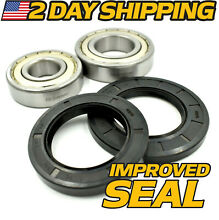 Whirlpool  Kitchenaid Front Load Washer Tub  2  Bearing    2  Seal Kit W10772619