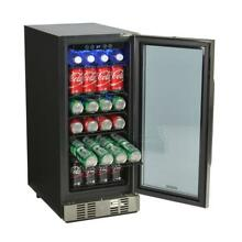 96 Can Beverage Cooler NewAir ABR 960 Freestanding or Built In Under Counter