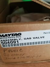 Maytag Magic Chef Amana Gas Dryer Valve With Coils Natural Gas NEW