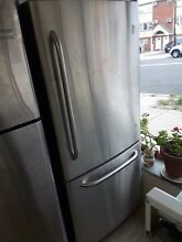 Refrigerator GE  chrome plated  30 x 67    2 month warranty