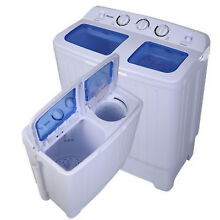Compact Portable Washing Machine Cleaner Dryer Apartment Washer Combo All In One