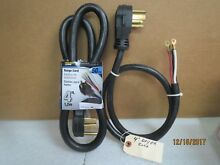 Power Zone 4 Prong Electric Dryer Power Cord   4 Ft   50 Amp NEW LOT of 2 cords