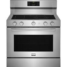 Frigidaire Gallery Stainless Steel 40  Freestanding Electric Range FGEF4085TS