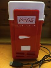 Coca Cola Retro Personal Fridge Koolatron Model CCRF01