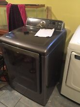 Samsung DV52J8700EP Platinum Steel 27  7 4 cuft Front Load Electric Dryer DD NEW
