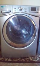 Whirlpool Duet 5 0 Front Load Washer w Adaptive Technology in Lunar Silver