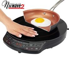 NuWave 2 Precision Induction Cooktop with 9  Pan