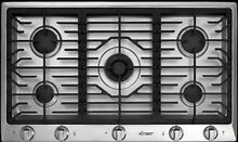 Dacor DCT365S Stainless Steel 36 in  Gas Gas Cooktop