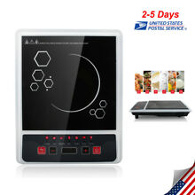 Electric Portable Induction Cooker Burner Cooktop Digital LED Display 2000W Home