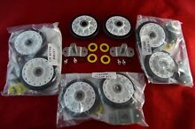 LA 1008 Dryer Roller Shaft Kit Admiral Magic Chef Maytag Norge Crosley  4 Pack
