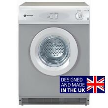 Brand New White Knight C44AS Silver Vented Dryer 6kg   Free extendable hose