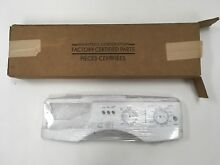 Whirlpool HE Washing Machine Control Panel Face Cover   OEM Brand New 8182348