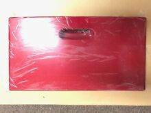 New Genuine OEM 134600340 Frigidaire Panel  Red 134550340
