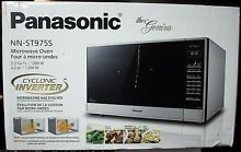 PANASONIC PRESTIGE PLUS 2 2 CU  FT  STAINLESS STEEL MICROWAVE   NN ST975S