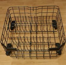 GE Dishwasher Lower Dishrack w Rollers Assembly WD28X22827 WD12X10435 60 Day War