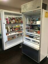 SUB ZERO 36  BUILT IN BOTTOM DRAWER REFRIGERATOR FREEZER