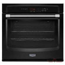 Maytag 30  Black Electric Wall Oven MEW7530DE