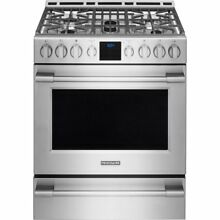 Frigidaire PROFESSIONAL Stainless 30  Gas Range Front Controls FPGH3077RF
