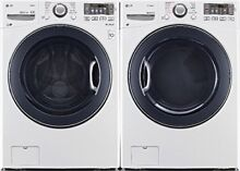 LG WM3470HWA WASHER  DLEX3470W ELECTRIC DRYER COMBO