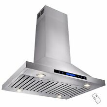 30  European Stainless Steel Wall Mount Range Hood Stove Touch Control Y RH0216