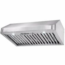 30  Stainless Steel Under Cabinet Classical Push Button Range Hood Vent Y RH0250
