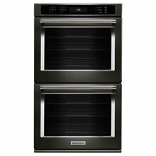KitchenAid KODE500EBS 30  Blacks Stainless Double True Convection Wall Oven