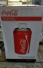 Coca Cola 8 Can Mini Fridge