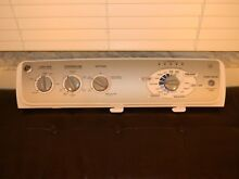 GE WASHER COMPLETE PANEL CONTROL BOARD   WH12X10439 175D5261G023