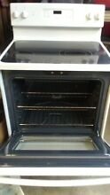 Used  GE JBS60DK3WW  Electric Smooth Top  Range Oven White