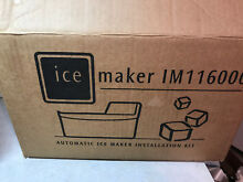 AUTOMATIC ICEMAKER KIT IM116000 NEW IN OPEN BOX ELECTROLUX FRIGIDAIRE KENMORE