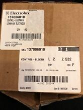 Electrolux washer Main control Part number 137006010
