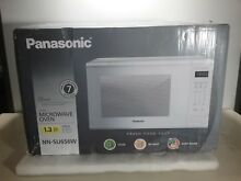Panasonic NN SU656W Microwave Oven   White 1 3 Cu  Ft  1100 Watt